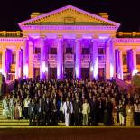 WSA kongreso atidarymas Parlamento rūmuose su JE Šri Lankos Respublikos Prezidentu Mahinda Rajapaksa. Foto: ©Philipp Benedikt/Alexander Mattersberger