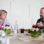 Rytinės dirbtuvės su TEDx ambasadoriumi Europai Niki Ernst. Foto: ©Philipp Benedikt/Alexander Mattersberger