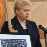 J.E. Lietuvos Respublikos Prezidentės Dalios Grybauskaitės sveikinimas Vadovų klubui.